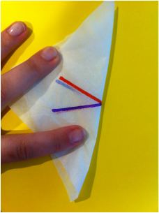 Hands-On Activity for Vertical Angles