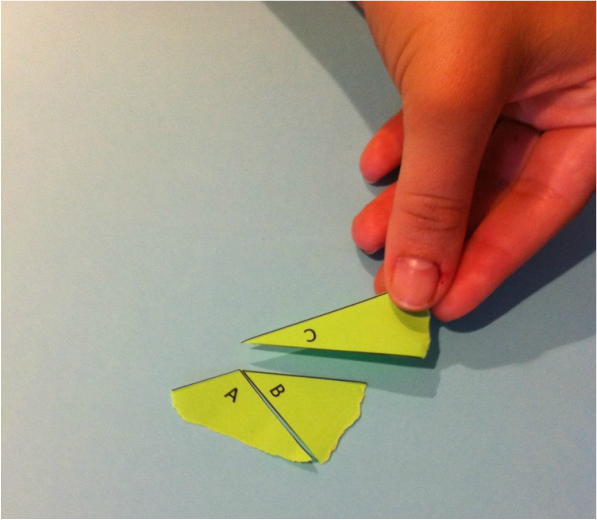 Triangle Sum Theorem Hands-On Activity
