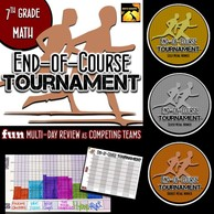 Fun Tournament to Review 7th Grade Math