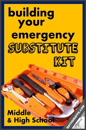 Building Your Emergency Sub Kit