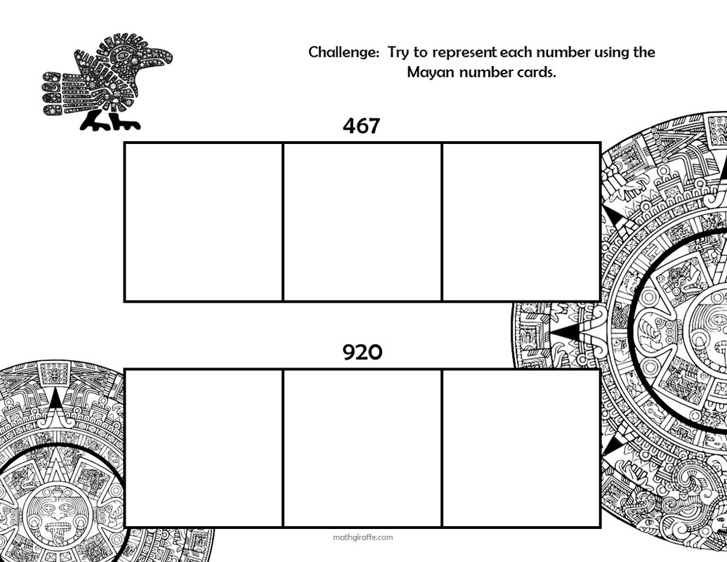 Teaching the Mayan Number System Investigating Different Bases – Mayan Math Worksheets