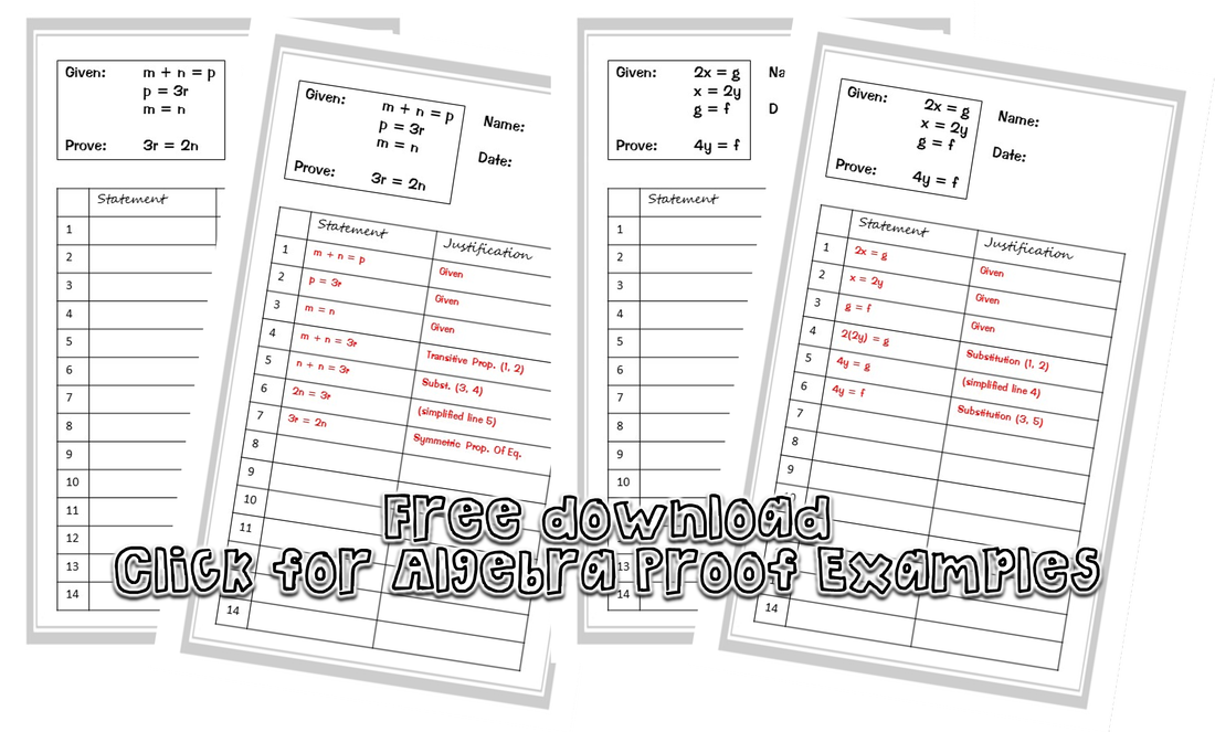 Introducing Geometry Proofs A New Approach – Algebraic Proofs Worksheet with Answers