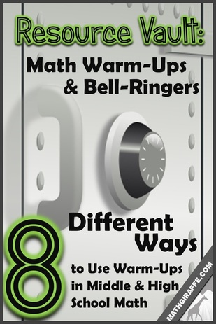 8 Unique Formats for Math Warm-Ups