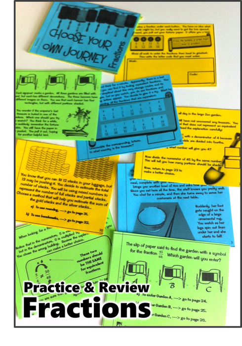 Fraction Skills Review Booklet