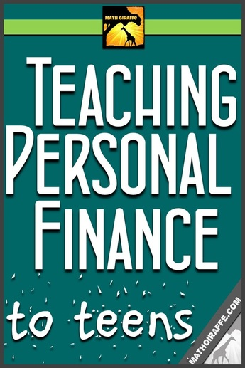 Worksheets Personal Finance Worksheets For High School teaching personal finance to teens math giraffe teens
