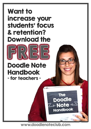 Free Download - Doodle Note Handbook for Teachers