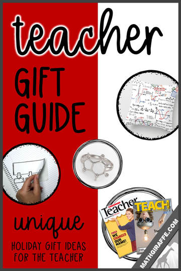 Teacher Gifts - Unique Ideas for Christmas or End of the Year