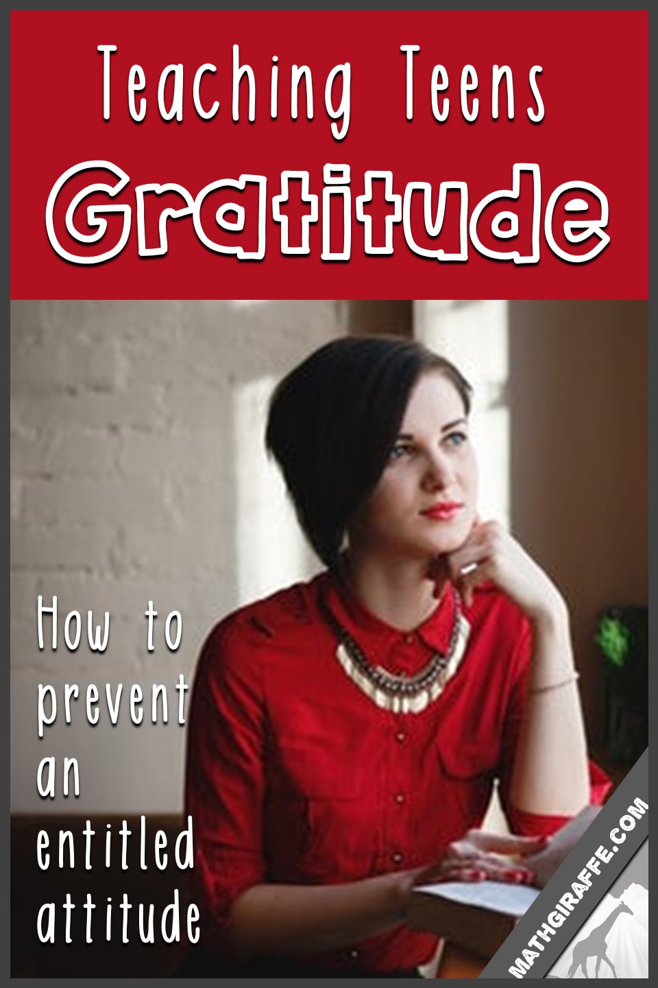 teaching gratitude - attitudes & entitlement in the classroom
