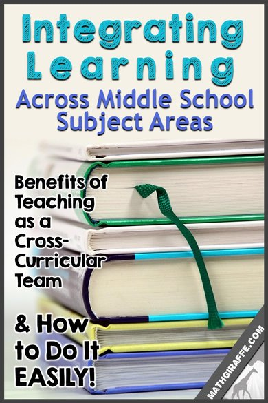 Cross - Curricular Teaching: Integrating Learning Across Subject Areas in Middle School