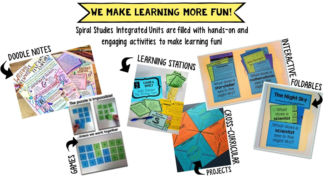 Integrating Learning Across Subject Areas in Middle School - Spiral Studies