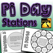 Pi Day Stations for Middle School