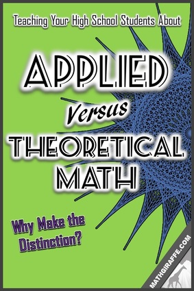 Teaching High School - Applied and Theoretical Math