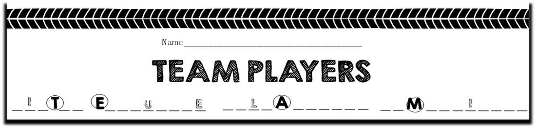 Team Player in Each Class - Free Middle School Lessons