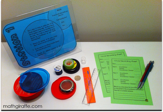 Pi Day Lesson Idea for Math Class - Pi Learning Stations