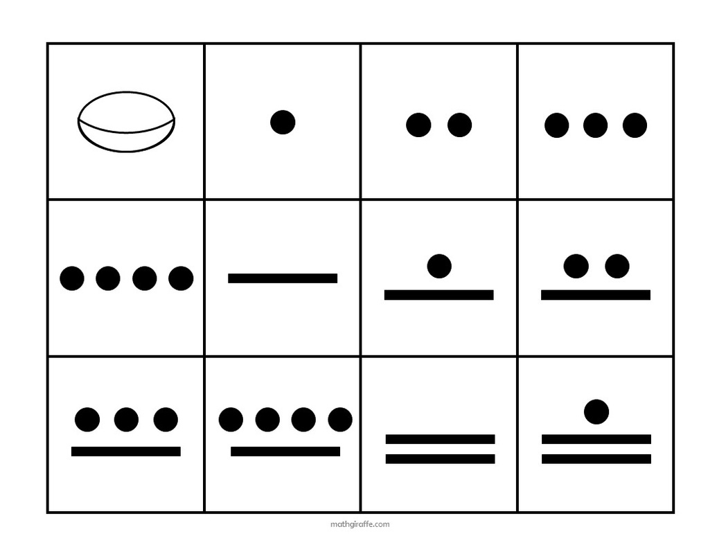 worksheet Mayan Worksheets For Kids teaching the mayan number system investigating different bases
