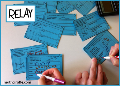 Math Review Relay