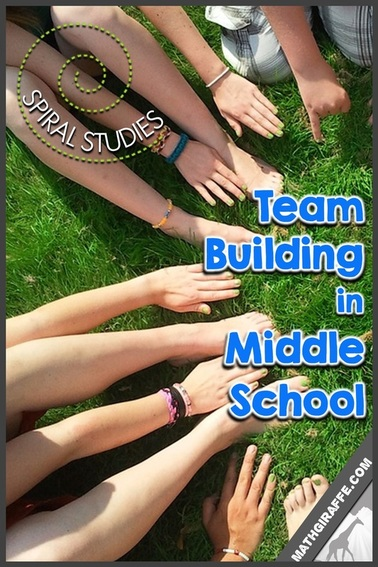 Team Building in Middle School