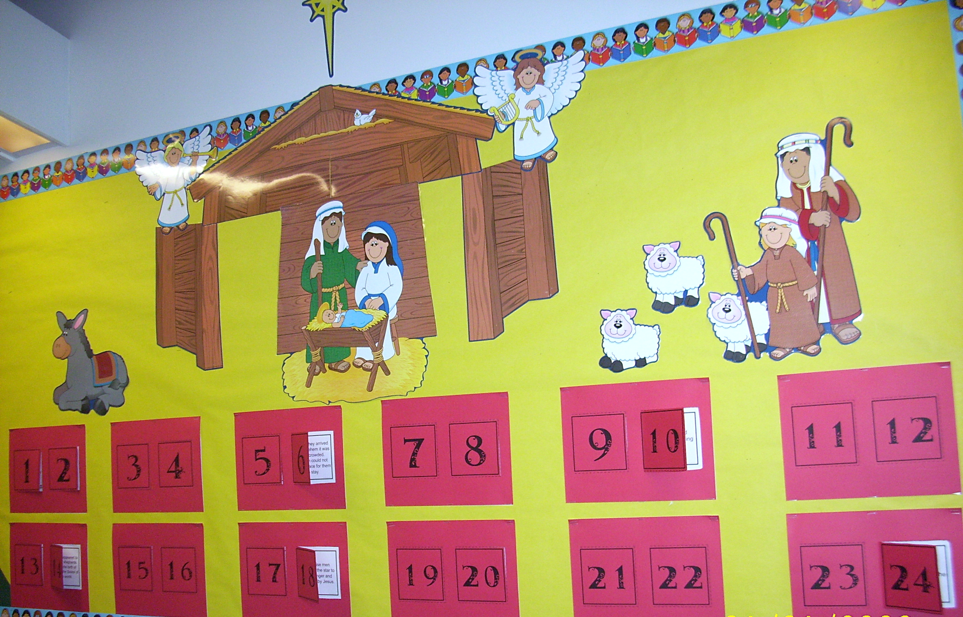 Nativity Math - Advent Calendar with word problems!