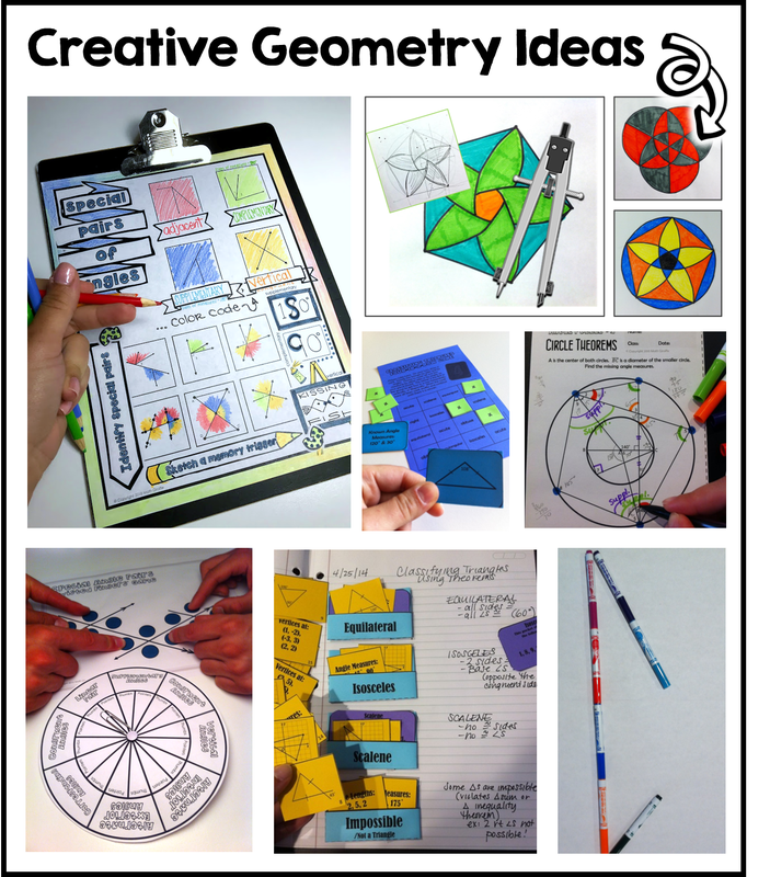 creative teaching ideas for geometry lessons