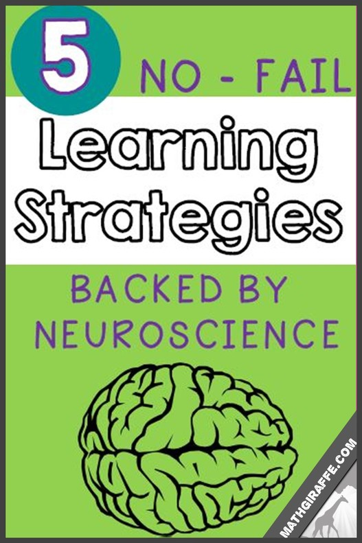 Making Learning STICK - Teaching Strategies Proven by Neuroscience -- Help students retain information in long-term memory with these 5 methods