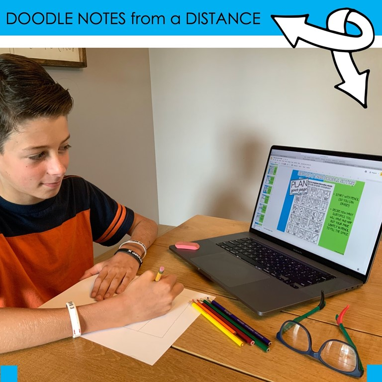 Doodle Notes for Distance Learning