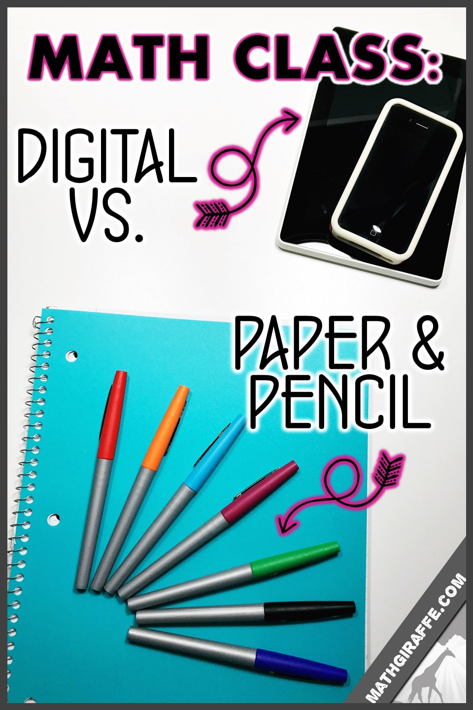 Digital vs. Paper in Math Class - The Challenges of a Paperless or ...