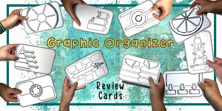 doodle graphic organizers for visual note taking and study skills